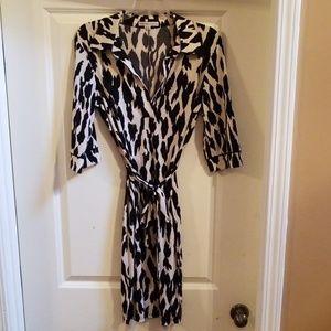 Haute print dress